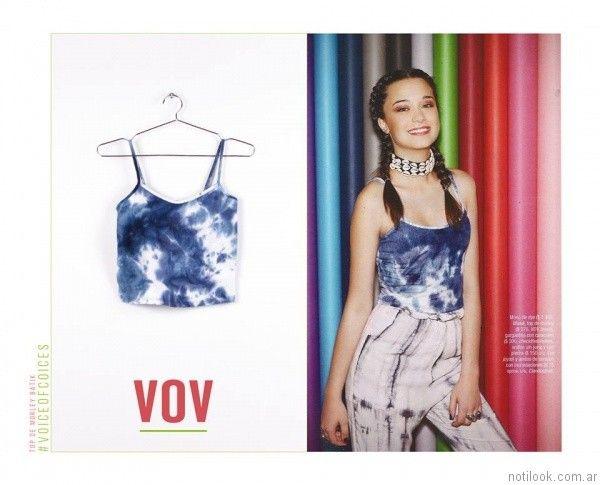 tip batik vov jeans verano 2017