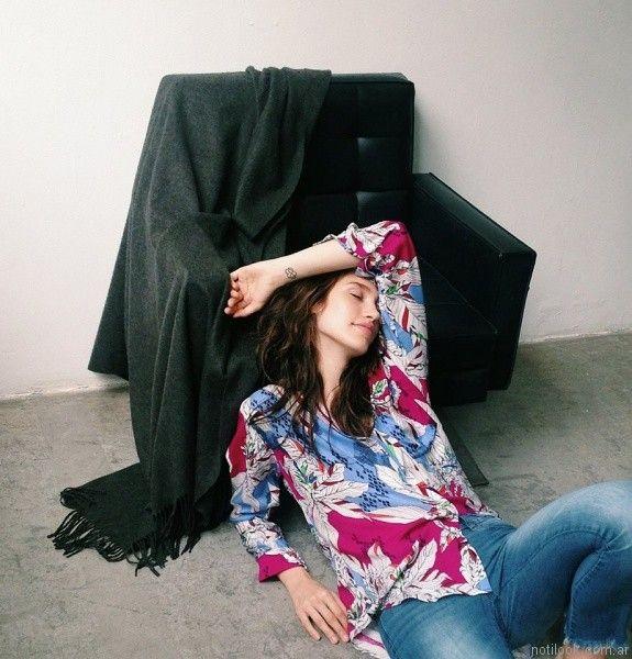 blusa y jeans INEDITA ARGENTINA invienro 2017