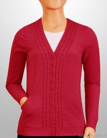 cardigan tejido en hilo mauro sergio sweaters invierno 2017