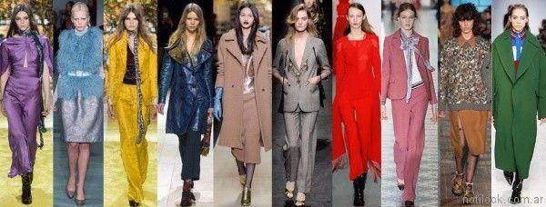 colores de moda otono invierno 2017