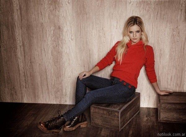 buzo mujer taverniti jeans otoño invierno 2017