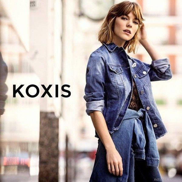 campera de jeans otoño invierno 2017 Koxis