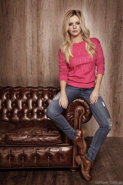 jeans con roturas taverniti jeans otoño invierno 2017