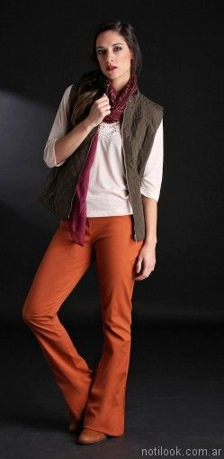 jeans oxford de colores Brandel otoño invierno 2017