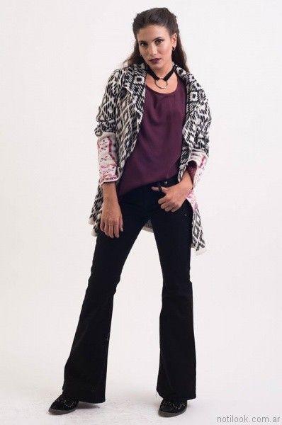 jeans oxford negro desvio jeans otoño invierno 2017