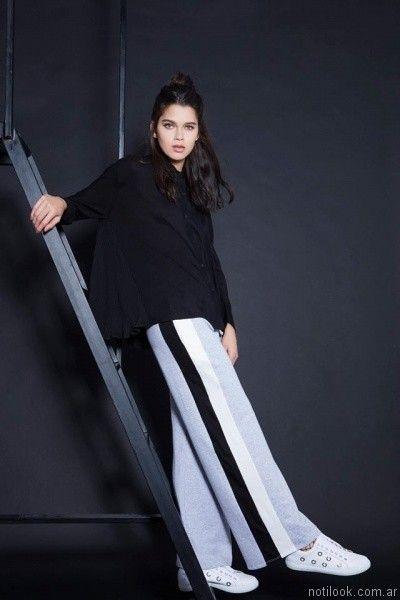 moda casual mujer otoño invierno 2017 Pura pampa