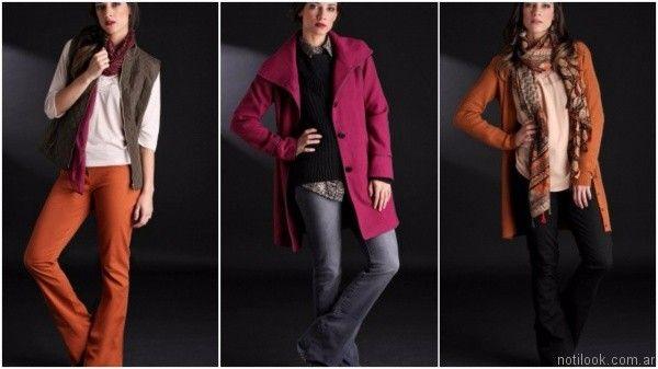outfit con jeans oxford brandel invierno 2017