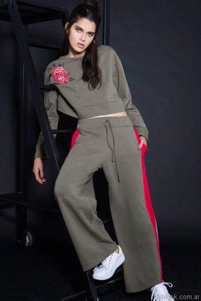 pantalon joggins mujer otoño invierno 2017 Pura pampa