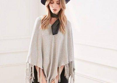 poncho tejido Uma otoño invierno 2017