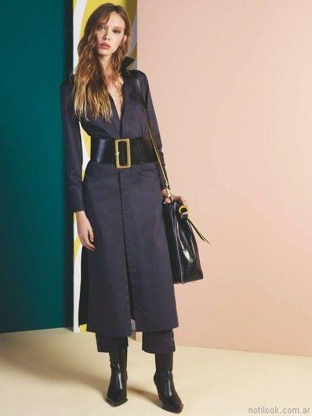 98299a9e07 vestido camisero para el dia Maria Cher otoño invierno 2017 – Moda ...