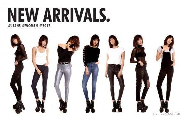 Look en jeans Ona Saez Mujer invierno 2017