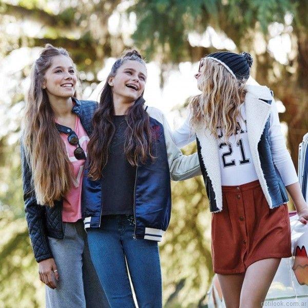 abrigos juveniles otoño invierno 2017 Como quieres que te quiera