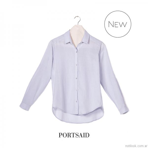 camisa voile mujer Portsaid otoño invierno 2017