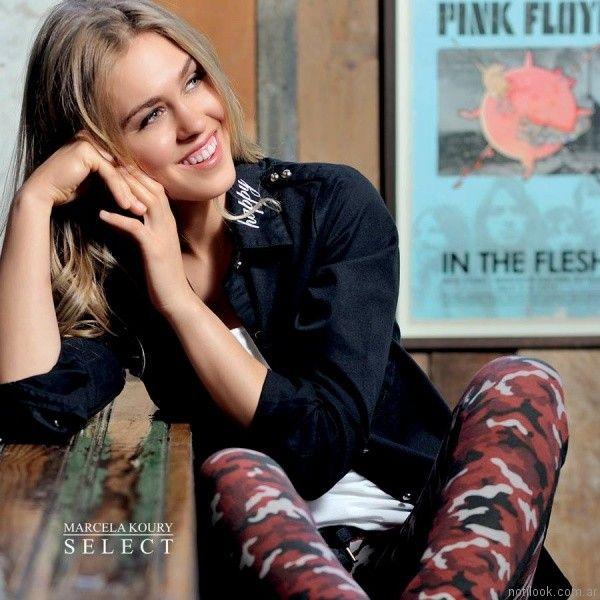 camisas de jeans Marcela Koury Select otoño invierno 2017