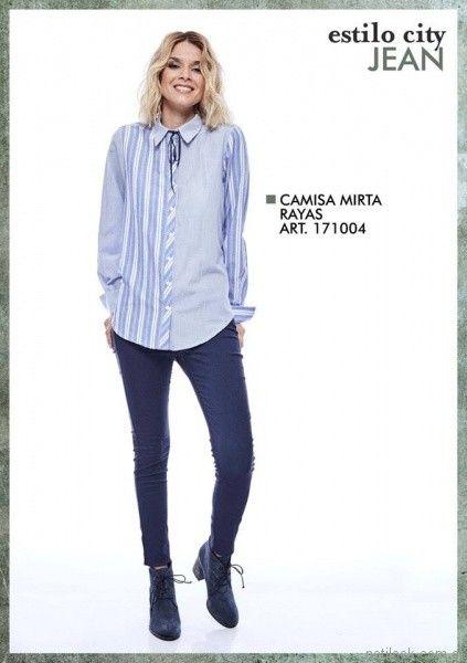 camisas para mujer city Jenifer argentina otoño invierno 2017