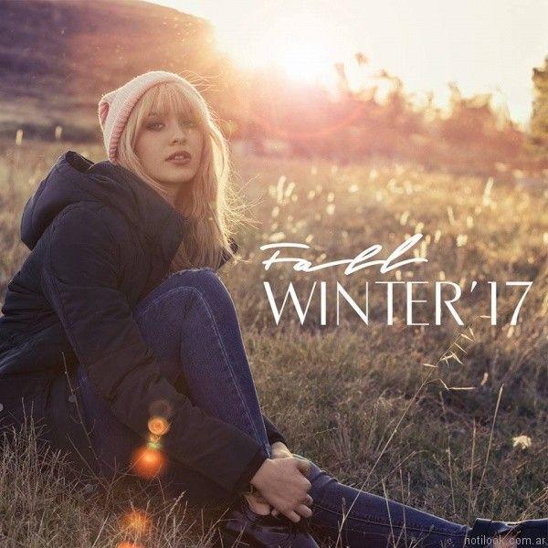 camperon juvenil mujer Scombro Jeans otoño invierno 2017