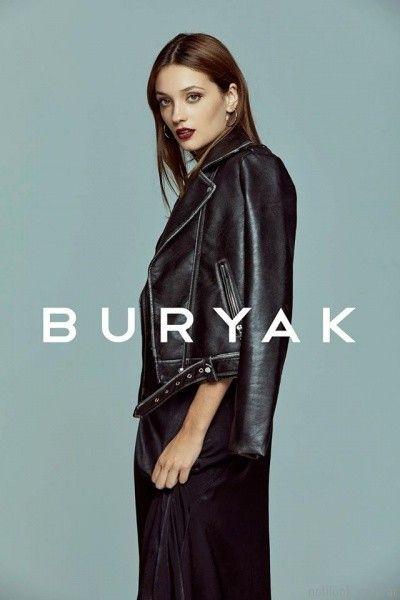 campra de cuero mujer otoño invierno 2017 Buryak