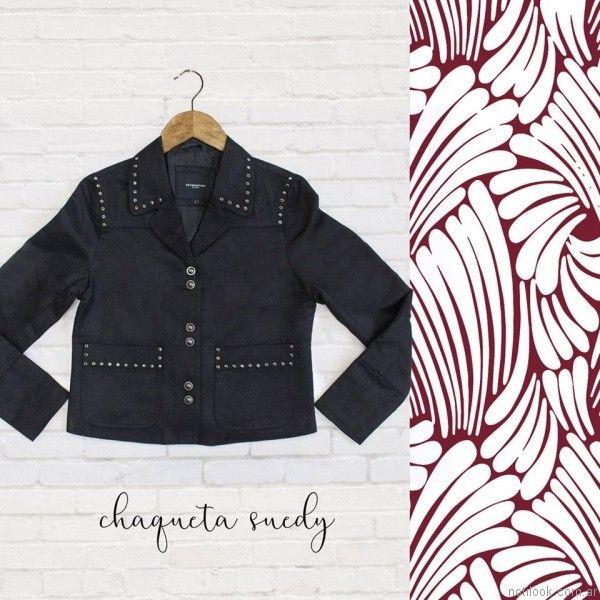 chaqueta gamuzada para mujer kevingston mujer invierno 2017