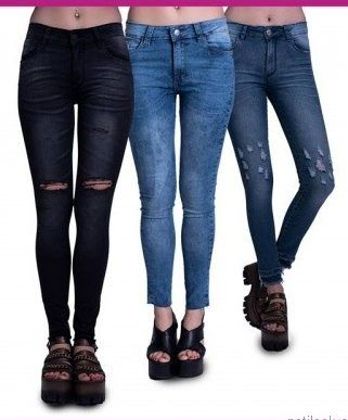 jeans chupin AF Jeans otoño invierno 2017