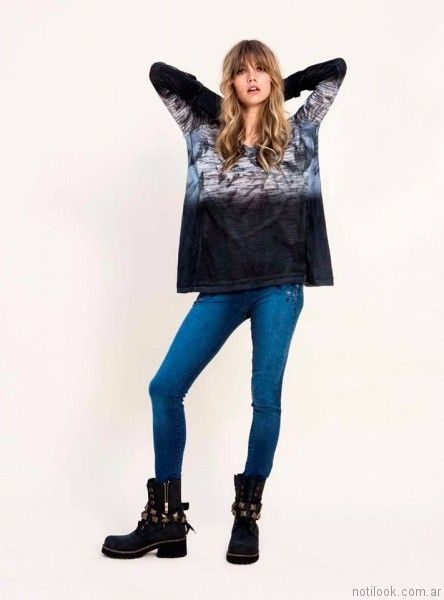 jeans mujer Vesna otoño invierno 2017