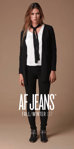 jeans negro AF Jeans otoño invierno 2017