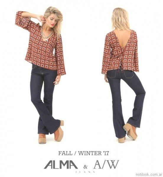 jeans oxford Alma Jeans otoño invierno 2017