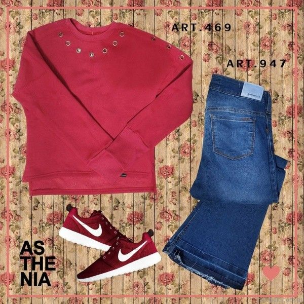 jeans oxford Asthenia otoño invierno 2017