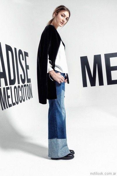 jeans oxford otoño invierno 2017 - Melocoton