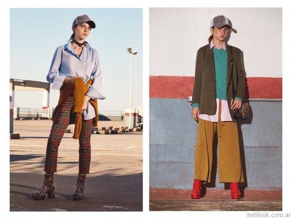 pantalones de vestir Complot otoño invierno 2017