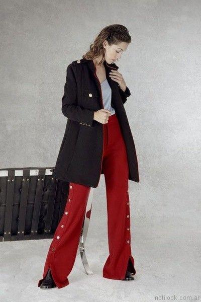 pantalones de vestir mujer ossira otoño invierno 2017