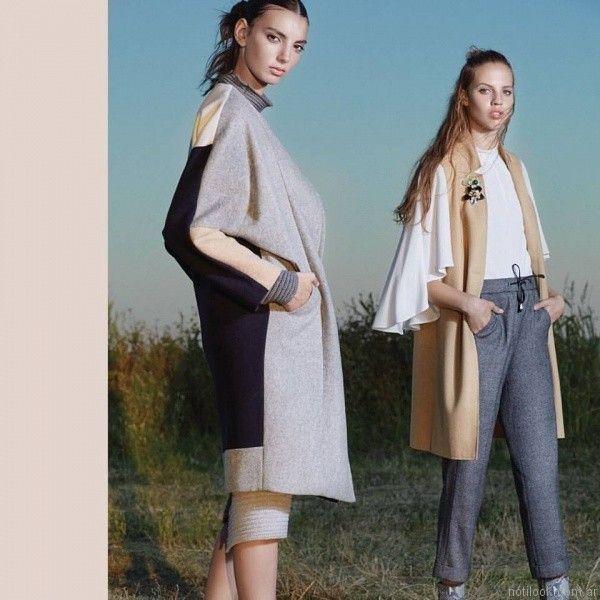 sacos de algodon Carmela Achaval invierno 2017