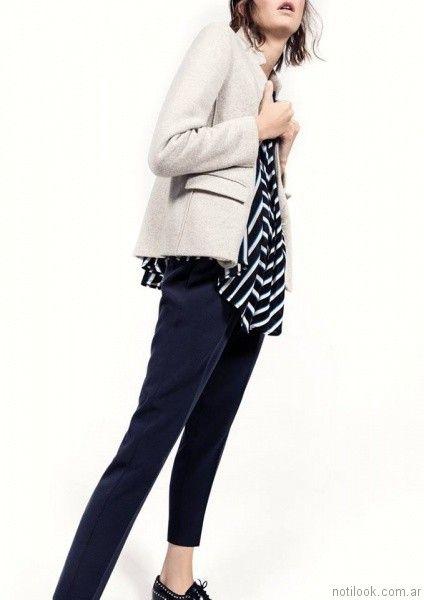 blazer entallado Graciela Naum otoño invierno 2017