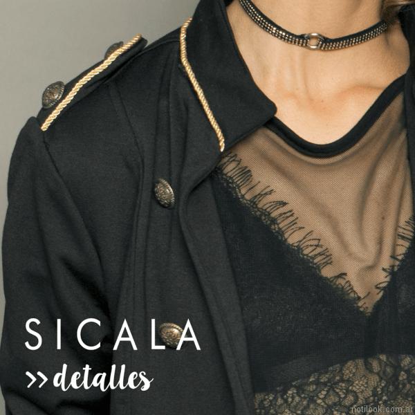 blazer mujer Sicala otoño invierno 2017