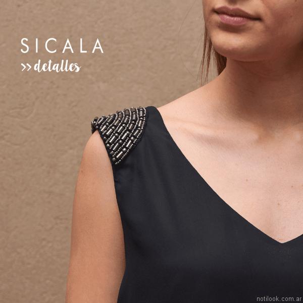 blusa bordada Sicala otoño invierno 2017