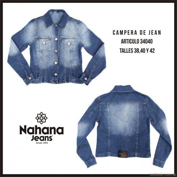 camepra de jeans nahana jeans invierno 2017