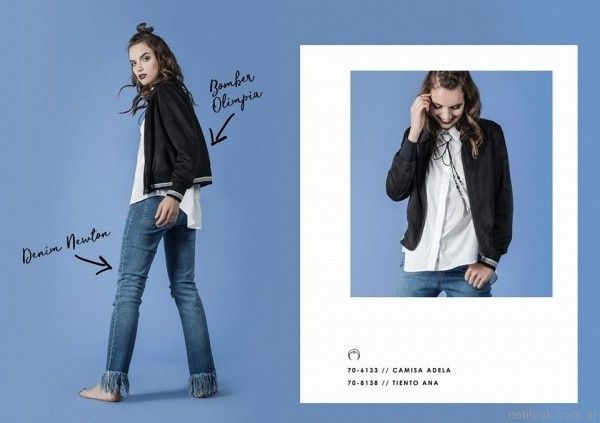 camisa blanca mujer Legacy otoño invierno 2017
