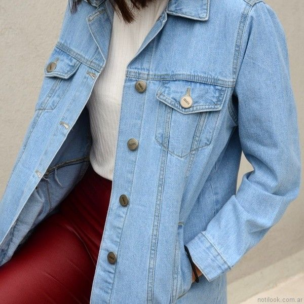 camisas de jeans juvenil yosi lovers otoño invierno 2017