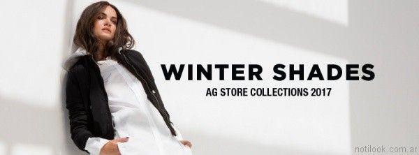 camperas para mujer AG Store otoño invierno 2017
