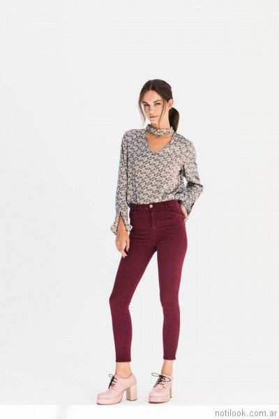 jeans chupin AG Store otoño invierno 2017