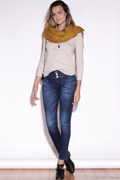 jeans desteñidos Vigga Jeans invierno 2017