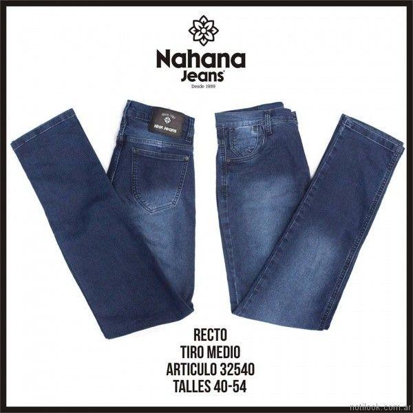 jeans recto nahana jeans invierno 2017