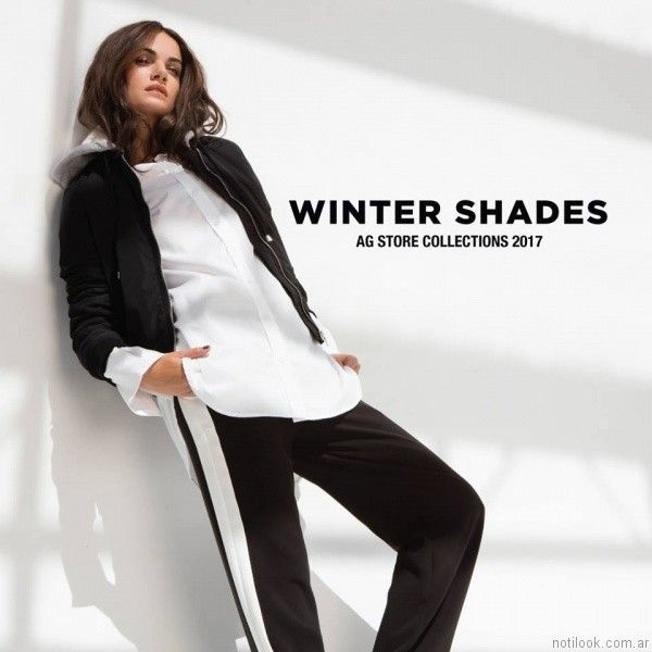 look sporty chic AG Store otoño invierno 2017