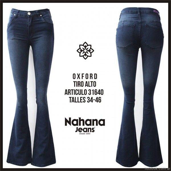 oxford azul oscuro nahana jeans invierno 2017