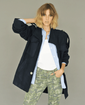 pantalon estampa militar Sicala otoño invierno 2017