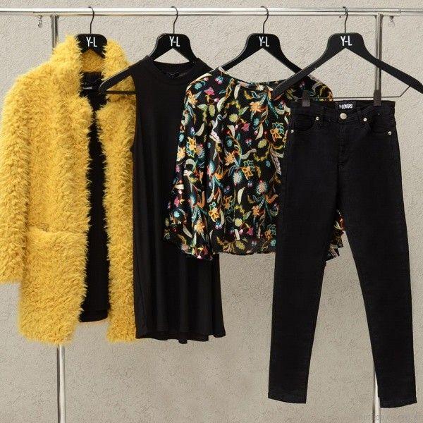 saco de piel sintetica amarillo yosi lovers otoño invierno 2017