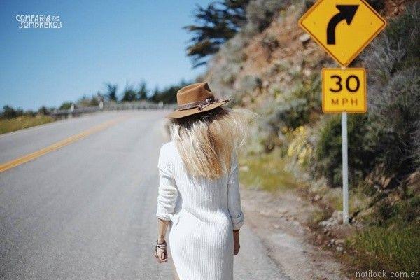 sombrero estilo australiano Compañia de sombreros otoño invierno 2017