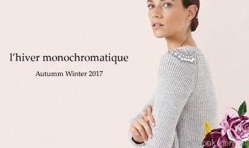 sweater con bordados Millie otoño invierno 2017