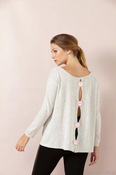 sweater de hilo Millie otoño invierno 2017