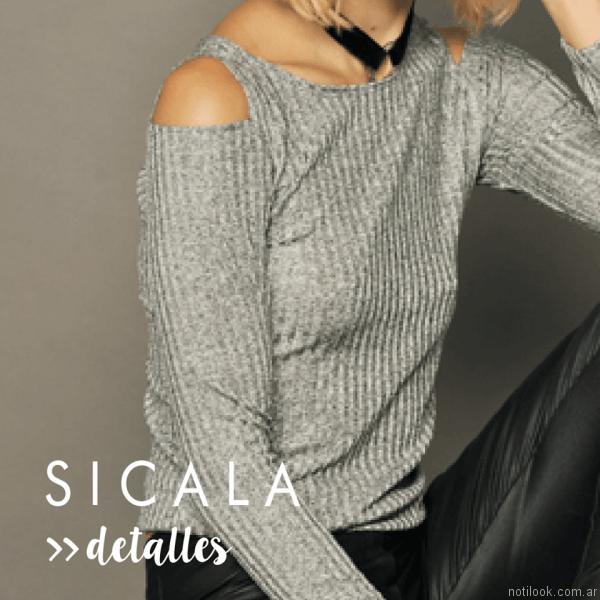 sweater de lanilla Sicala otoño invierno 2017