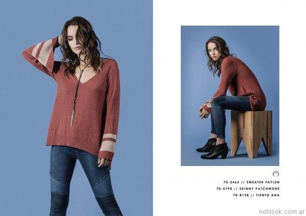 sweater mangas oxford Legacy otoño invierno 2017
